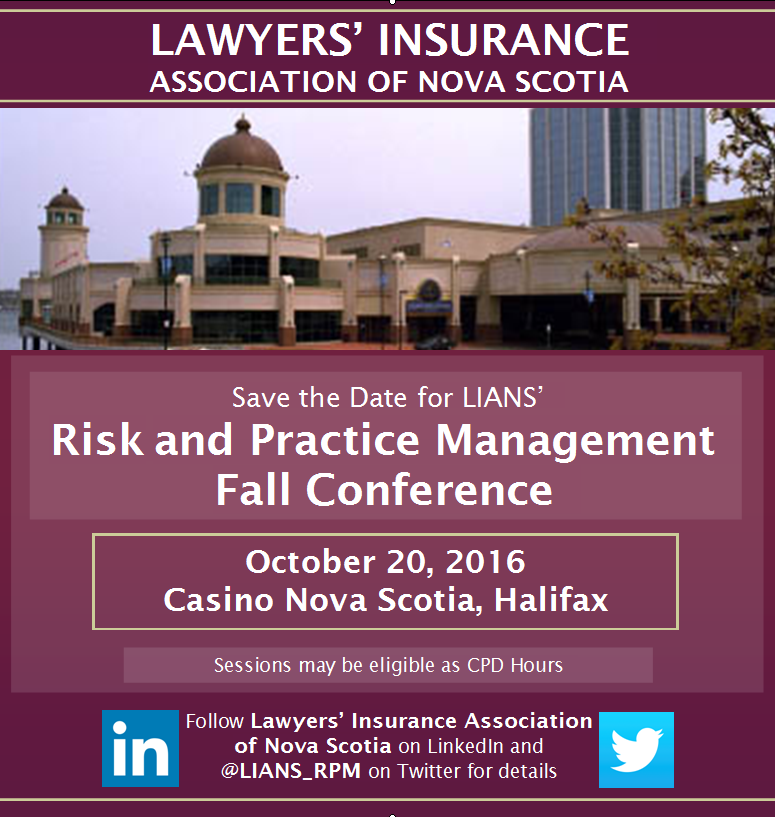 save the date for lians rpm conference 2016 lawyers insurance